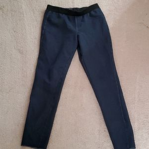 Highwaist dark blue denim skinny jeans